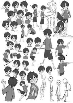 New Drawing Faces Boy Character Design Ideas Character Poses, Kid Character, Character Design References, Character Drawing, Character Illustration, Animation Character, Character Sketches, Drawing Cartoon Faces, Cartoon Art