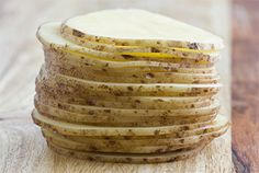 Raw potatoes soothe skin, getting rid of those annoying dark circles under your eyes!