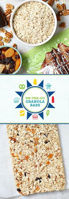 When it comes to summer adventure with your family, you can never have too many snacks to serve your kiddos. Take this recipe for On-the-Go Granola Bars for instance—they're simple to make, pack easily, and of course taste delicious! Made with rolled oats, Member's Mark pecans, honey, and dried fruit, these sweet treats pair well with Powerade®. Whether you've got a family hike, trip to the theme park, or road-trip vacation planned, you can pick up everything you need at Sam's Club!