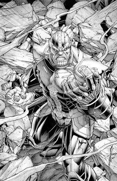 Dale Keown Thanos Annual #1 Cover!!!!!! Comic Art