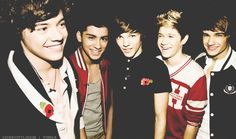 ONE DIRECTION. Too cute!