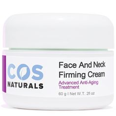 COS Naturals FACE AND NECK FIRMING CREAM Advanced Anti-Aging Treatment NATURAL and ORGANIC Ingredients Firming Toning Daily Moisturizer Lotion For Wrinkles Fine Lines Saggy Skin Chest Body 2 Oz. >>> See this great image  : Face treatments and masks