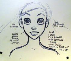 Disney Princesses - Preproduction Sketches (Ariel)