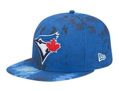 Toronto Blue Jays Color Camo 59Fifty Fitted Baseball Cap by NEW ERA x MLB