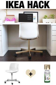 Лучшие хаки ИКЕА и поделки поделка идеи для мебели и домашнего декора от ИКЕА - дорого смотреть офисные кресла ИКЕА Хак - творческий ИКЕА взломать учебники для DIY Платформа, кровать, стол, трюмо, комод, журнальный столик, хранения и кухня, спальня и ванная комната Декор http://diyjoy.com/best-ikea-hacks