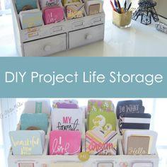 La Bella Vida Design Project Life Card Storage