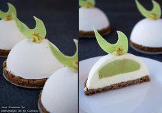 Hoy Cocinas Tú: Semiesferas de chocolate blanco, yogur y lima con interior de aguacate, tequila y guindilla