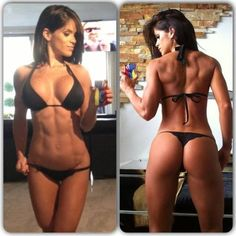 If you can't already tell, I'm obsessed with her physique and that's what I'm going to strive for!