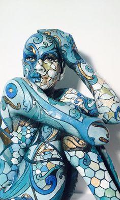 """""""Switch""""  Rabarama hand painted bronza"""