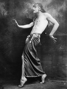 Greek dancer Iolaus, 1920s
