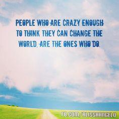 Are you crazy enough?