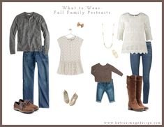 Wondering what to wear for your fall family portraits? Raleigh family photographer Be True Image Design offers suggestions. Family Photos What To Wear, Winter Family Photos, Fall Family Portraits, Fall Photos, Fall Pics, Family Posing, Family Photography Outfits, Clothing Photography, Toddler Photography