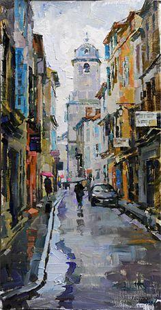 John Michael Carter, John Carter, plein air oil painting-Ralph Liliedahl