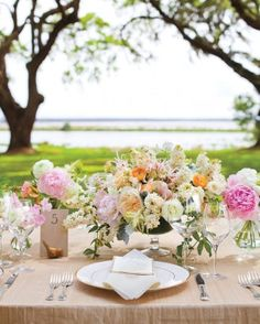 """See the """"Birds of a Feather"""" in our Table Numbers from Real Weddings gallery"""
