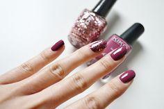 Kiko and OPI nail polishes