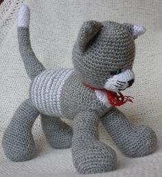 horgolt cica
