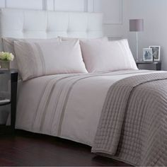 2cef051b8e4 J by Jasper Conran Natural  Woburn  bed linen- at Debenhams.com