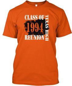 ths class of 1994 20 year reunion shirt - Class Reunion T Shirt Design Ideas