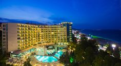 Marina Grand Beach Hotel All Inclusive Golden Sands The 4-star Marina Grand Beach Hotel is situated in a beautiful park area, in the immediate vicinity of the beach, in the southern part of Golden Sands resort. Free WiFi is available.  Most of the rooms offer sea views.