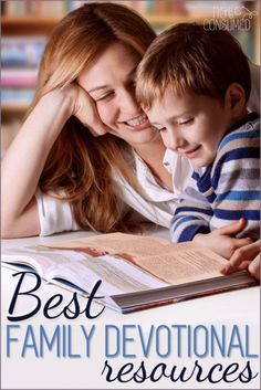 Some of the best family devotional resources are much more simple than you might imagine. Come take a peak at our list!
