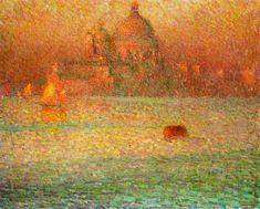 The Salute, Winter Morning, Venice | Henri Le Sidaner
