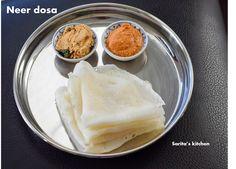 Sarita's Kitchen Blog: Neer Dosa( Karnataka special)