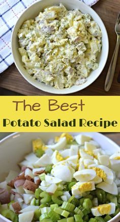 Inside: Learn how to make this delicious and easy potato salad recipe which will be a perfect addition at your next barbecue!