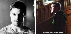 Arrow - Oliver and Felicity #1.23 #2.23 #Olicity