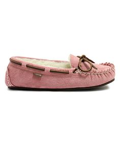 This Pink Britain II Suede Moccasin by LAMO is perfect! #zulilyfinds