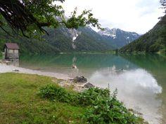 Lago del Predil (walk around the lake) - Tarvisio, Italy