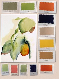 My colours - Warm&Clear Color Me Beatiful