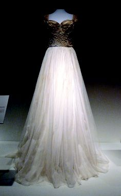 One of the dresses worn by Neva Langley, Miss America 1953, during her reign.