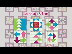 """Quilt Tribe """"Lesson One"""" - YouTube"""