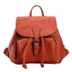 Venta de bolsas de marca moderna mujer mochila de de cuero plena flor buen precio [AL93079] - €85.75 : bzbolsos.com, comprar bolsos online