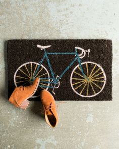 The Danica Studio Bespoke Doormat adds a touch of practical décor to your apartment, condo or home entry. Coir, Doormat, Bespoke, Design Inspiration, Touch, Studio, Pattern, Crafts, Taylormade