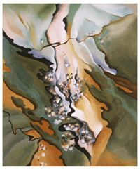 From the Lake No. 3 / Georgia O'Keeffe /  1924 / Oil on canvas