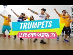 Trumpets | Zumba® | Live Love Party | Dance Fitness | Trumpets Challenge | #DUTTYSTEPPINZ - YouTube
