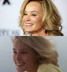 Jessica Lange young and older  Still Beautiful