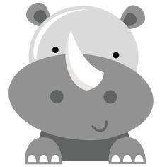 Rhino SVG file for cutting machines rhino svg cut file zoo animal svg files zoo svg cuts free svg cut files
