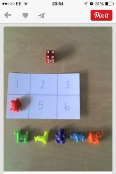 Roll and match bingo
