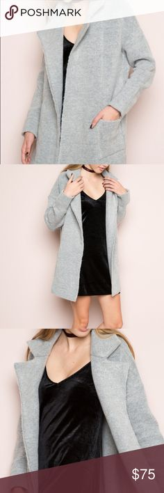 NWT Brandy Melville Kennedy Coat New with tags! Lowest I'll go Brandy Melville Jackets & Coats
