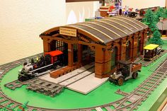 Steamwood Falls Engine Shed #10