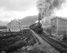 THEN Haugastøl Station Buskerud Norway 1912 | Flickr - Photo Sharing!
