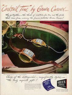 1946 Gruen ad ‹ Strickland Vintage Watches