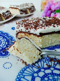Ciasto bounty bez pieczenia (wegańskie i bezglutenowe)