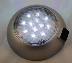 Battery Powered LED Dome Lamp - Magnetic or Fixed Mount - High Power White LED Downlight for Home, Auto, Truck, RV, Boat and Aircraft by Pilot, http://www.amazon.com/dp/B0056B58AU/ref=cm_sw_r_pi_dp_J1Bcrb1W18HEH/182-7756007-8845225