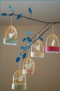 Have fun with DIY bird cage decorations by taking ideas from the awesome collection of ideas handpicked for you. Decorate your home with kids DIY bird cages, bird cage planters for garden and more. Kids Crafts, Diy And Crafts, Craft Projects, Arts And Crafts, Craft Ideas, Diy Ideas, Decor Ideas, Kids Decor, Party Ideas