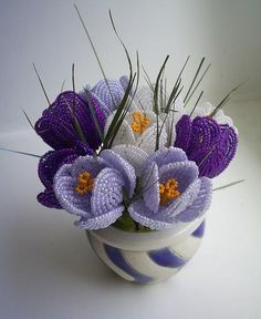 CROCUS OF BEADS