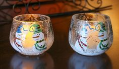 These beautiful glass Christmas candle holders will enhance your Christmas decor with their beautiful colors and patterns. Candle Chandelier, Candle Lanterns, Chandeliers, Candles, Christmas Candle Holders, Glass Candle Holders, Crackle Glass, Snowmen, Special Day