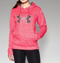 Women's UA Big Logo Applique Twist Hoodie | Under Armour US  {{...and this.}}